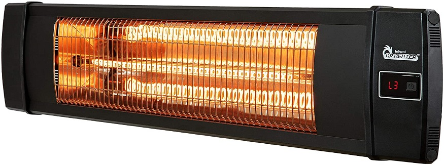 dr infrared carbon infrared wall mounted heater