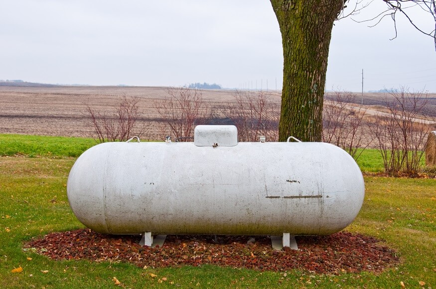propane gas tank emergency fuel