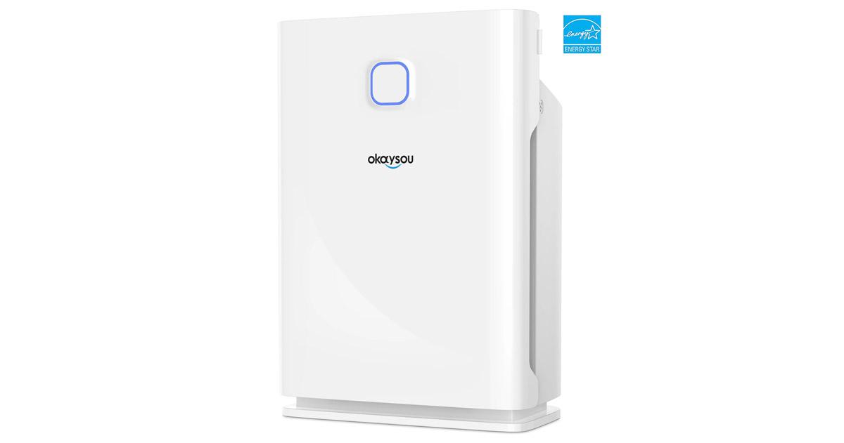 Okaysou 10l smart air purifier review