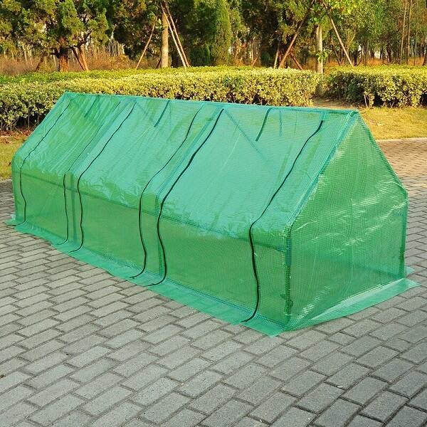 outsunny mini greenhouse