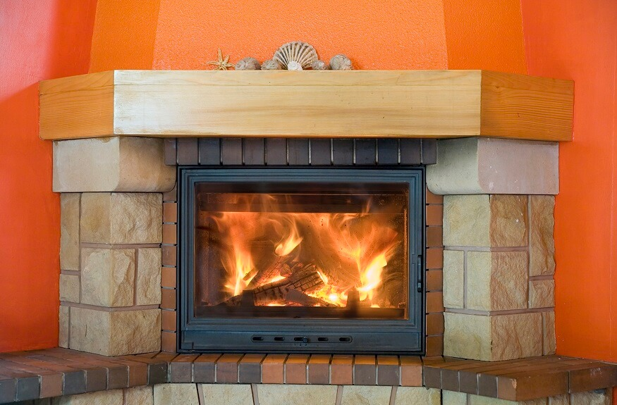 installing a wood burning fireplace insert