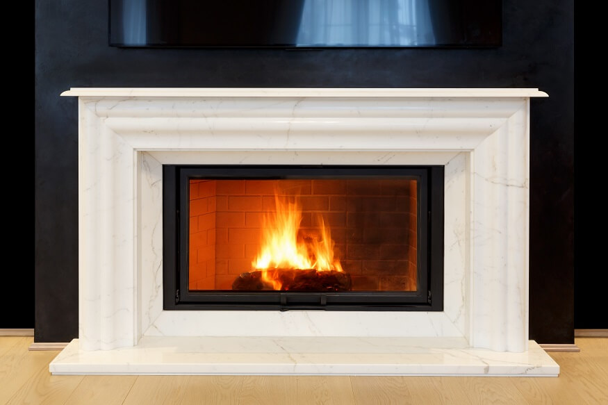 using a fireplace insert without a chimney
