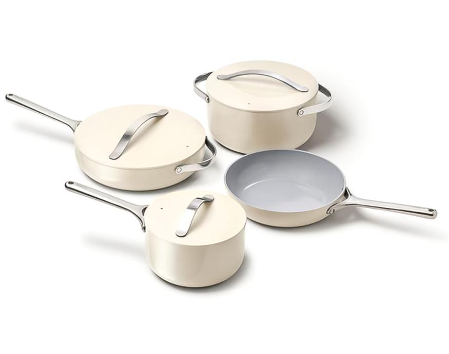 4 piece Caraway Cookware set