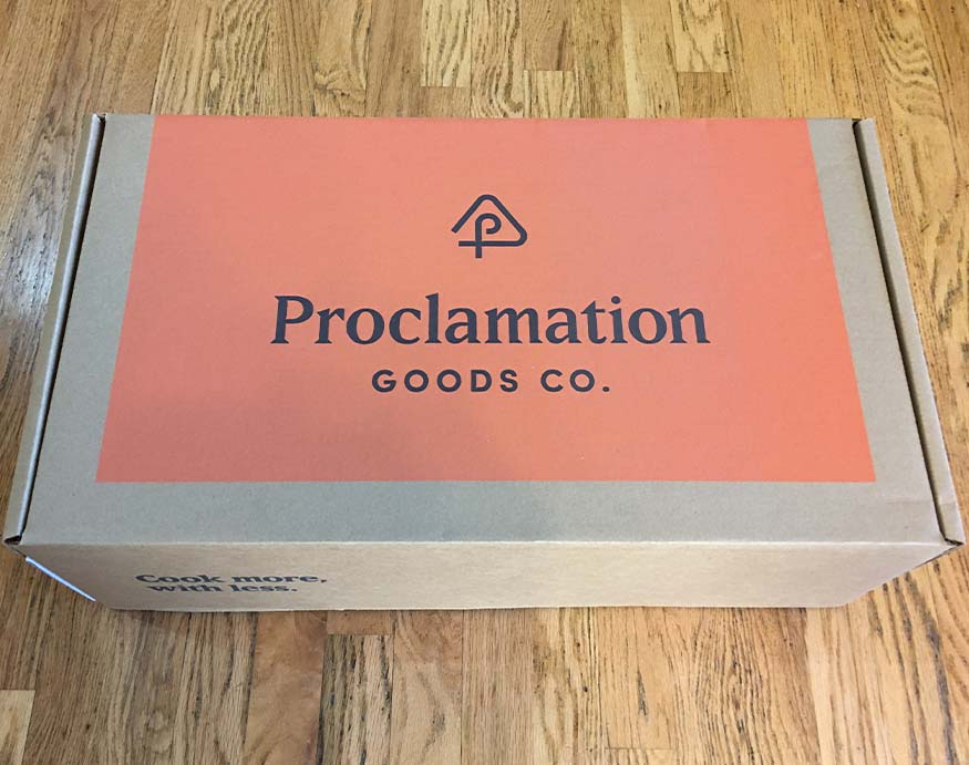 Proclamation Duo packaging