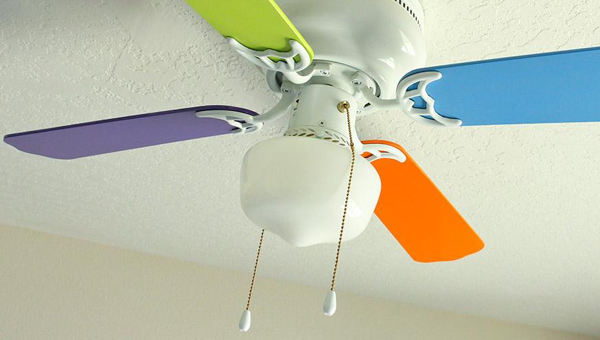 pull chain on fan