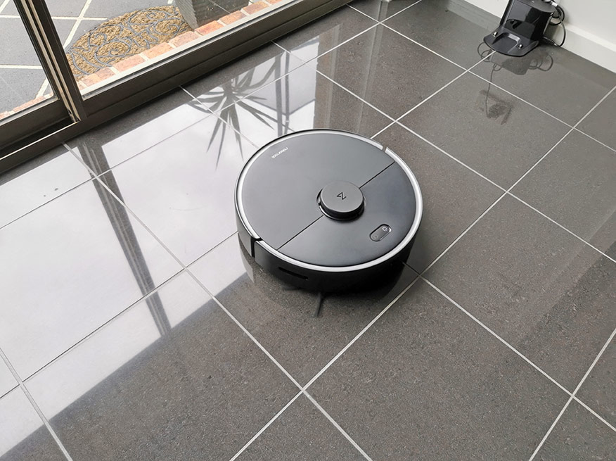roborock s4 max cleaning