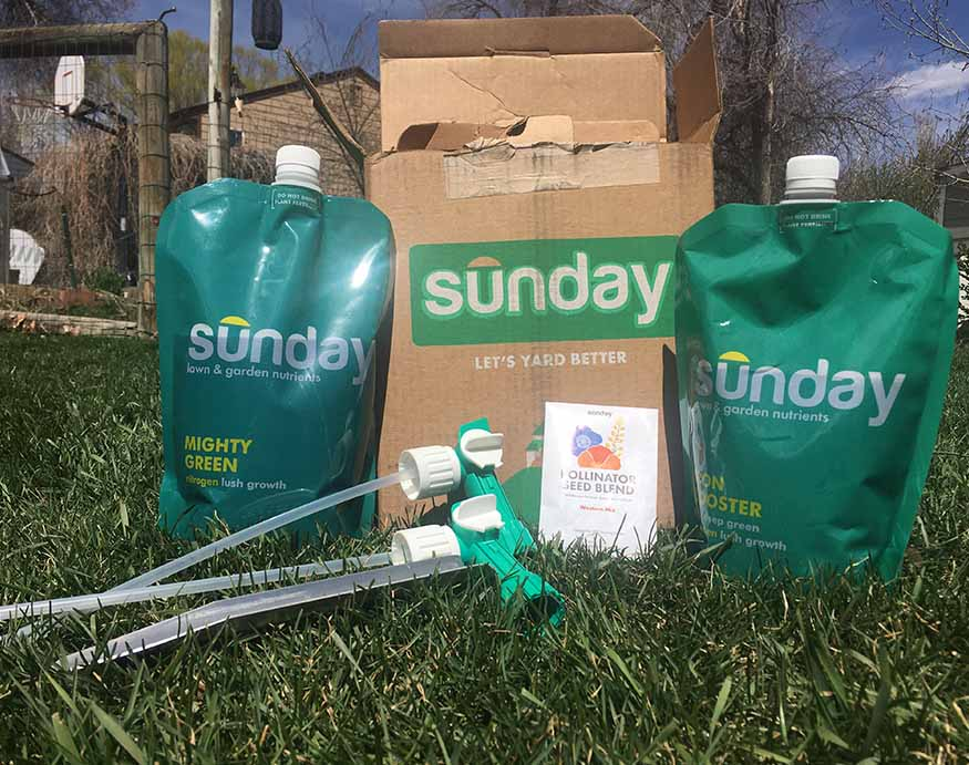 Sunday Lawn Care products