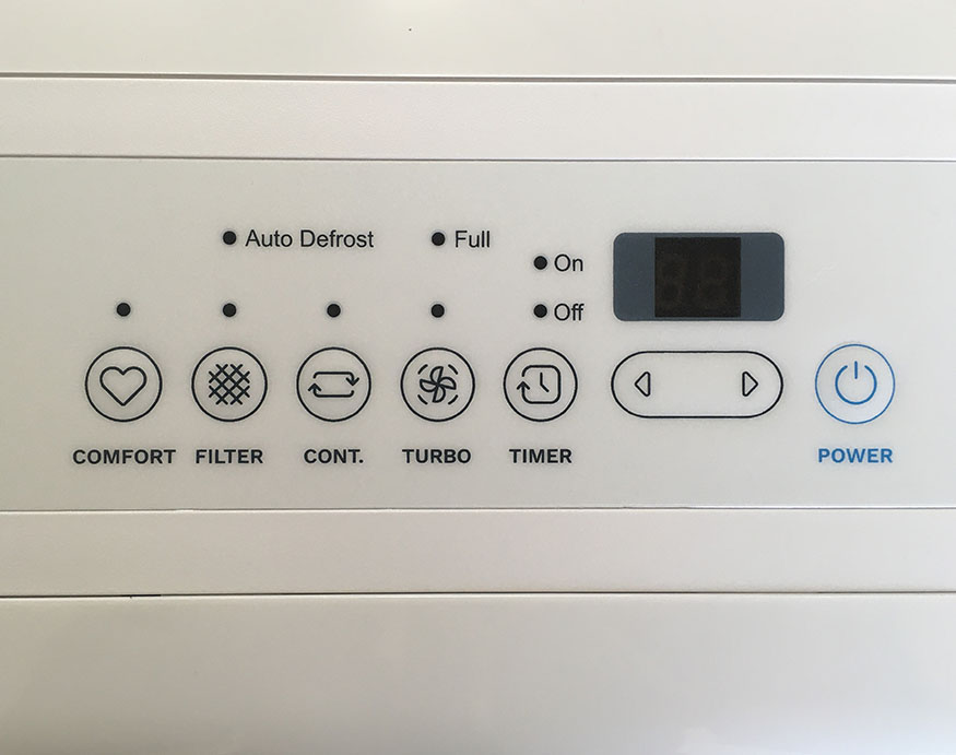 control board system of of homeLabs 50-pint Dehumidifier