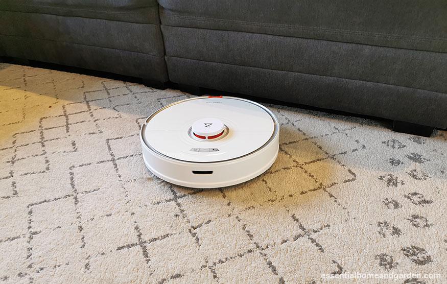 roborock s7 on carpet
