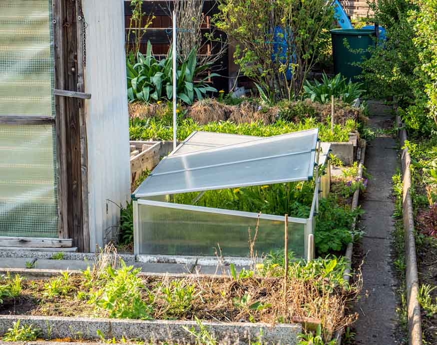 open cold frame