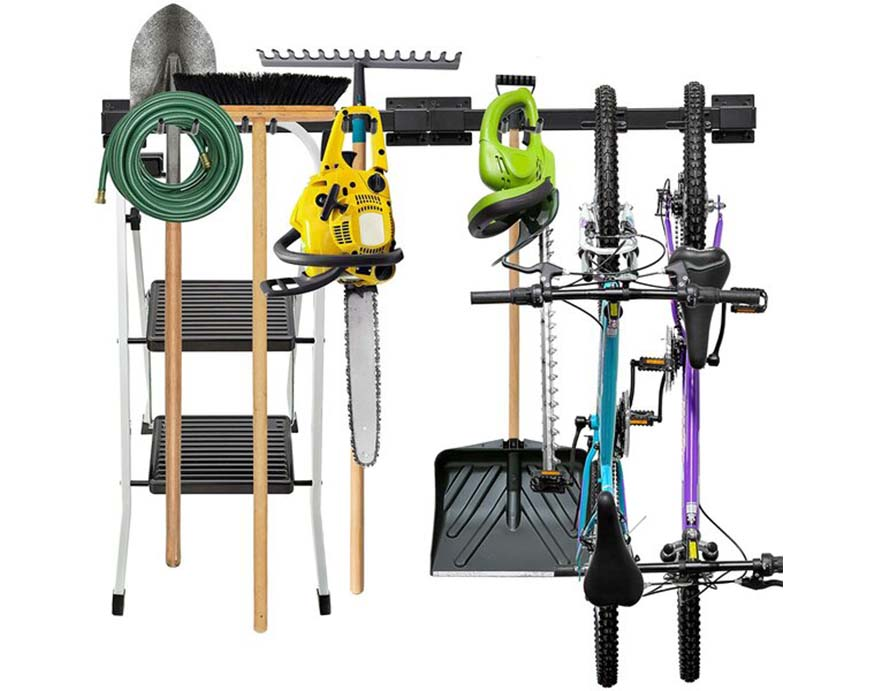 WFX Utility Wall Mounted Tools Storage Rack