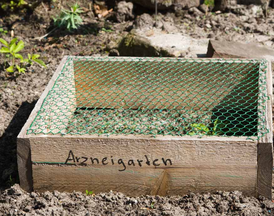cold frame without any plants