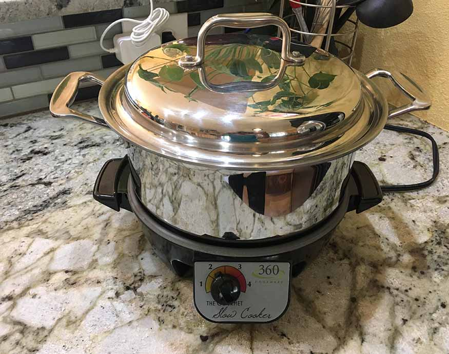 picture of 360 Cookware's Slow Cooker