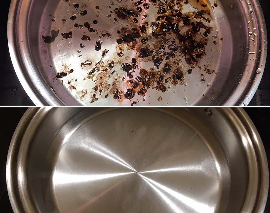 cleaning 360 cookware