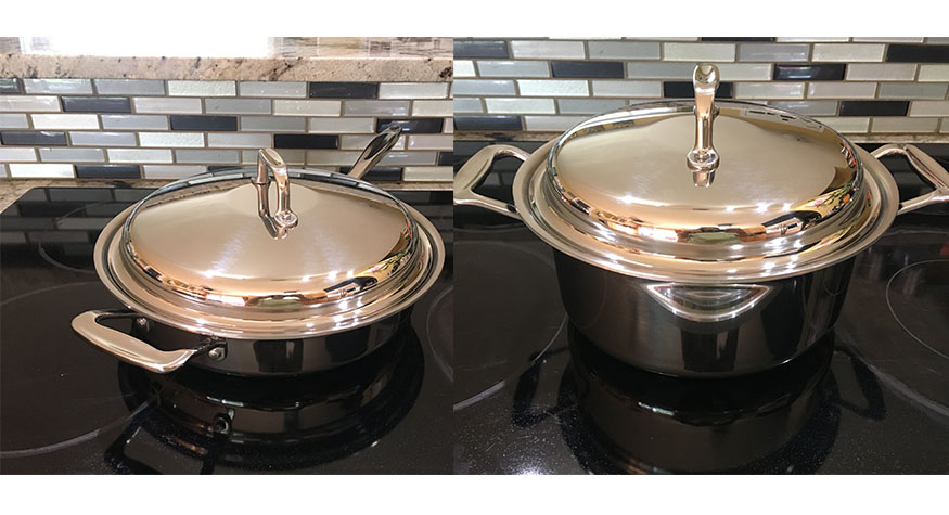 close-up picture of 360 Cookware
