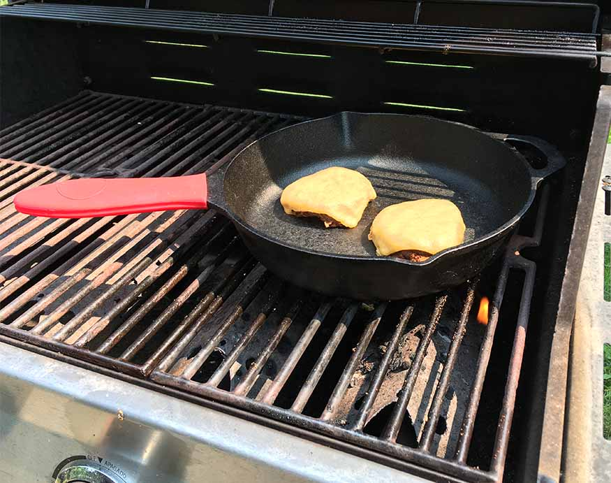 Using the Uno Casa Cookware with a grill