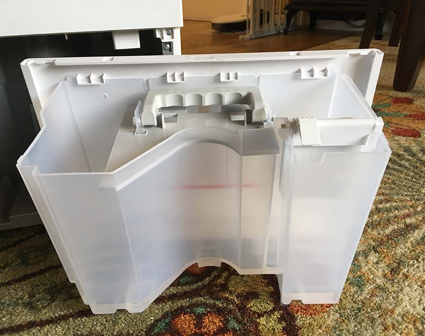a cracked water reservoir can cause dehumidifier leaks
