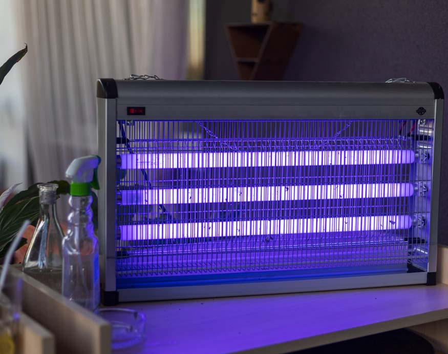 mosquito trap using ultraviolet light