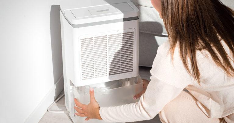 dehumidifier leaking refrigerant freon