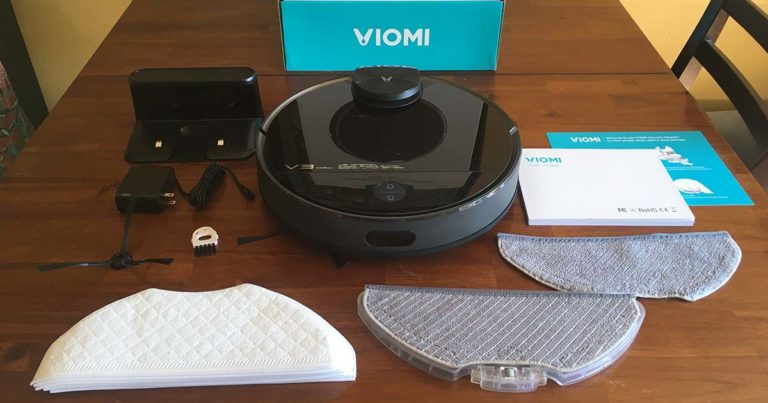 packaging inclusions of the Viomi V3