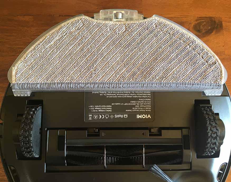 Viomi V3 Max's mop pad