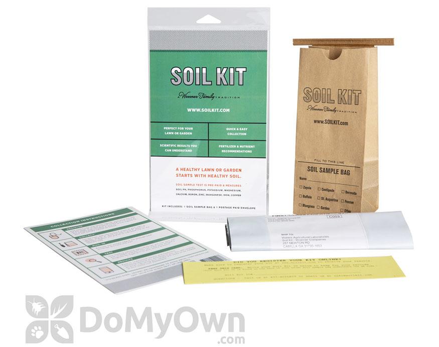 Woermer Family soil test kit